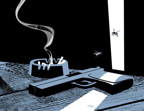 Illustration ©John Skewes, story by Bruce L. Priddy